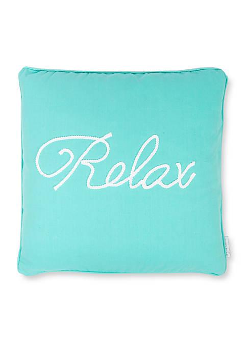 Levtex St. Croix Relax Pillow