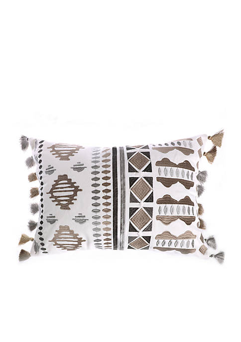 Ginerva Aztec Pillow with Tassels
