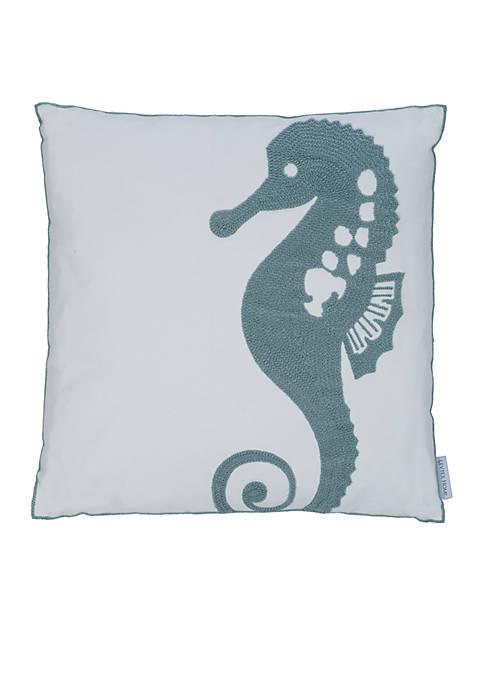 Levtex Naples Seahorse Pillow