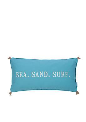 Naples Sea Sand Surf Pillow