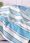 Blue Maui Quilted Throw