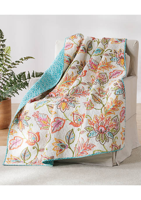 Sophia Quilted Throw