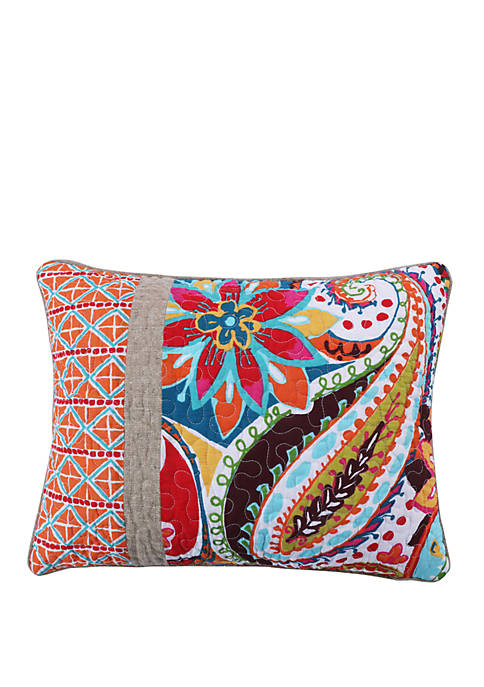 Rhapsody Pieced Pillow