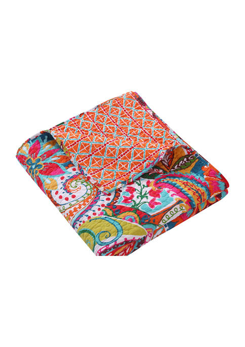Rhapsody Quilted Throw