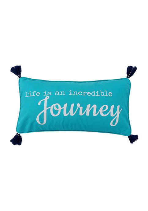 Levtex Chandra Journey Tassel Pillow