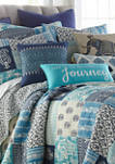 Chandra Journey Tassel Pillow