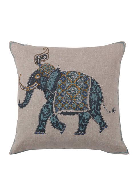 Levtex Chandra Elephant Pillow