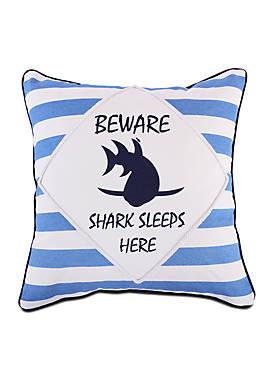 Evan Beware Pillow