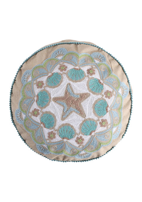 Levtex Home Calafel Round Pillow