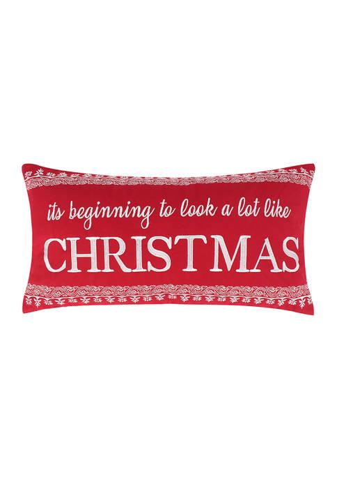 Bretton Woods Christmas Pillow