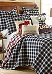 Lodge Sparkle Moose Pillow