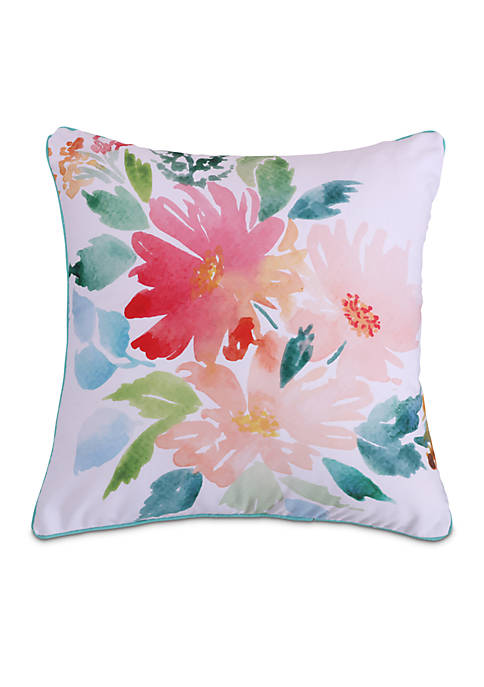 Carrie Printed Floral Pillow