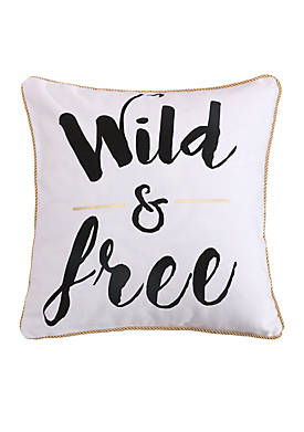 Carrie Wild and Free Pillow
