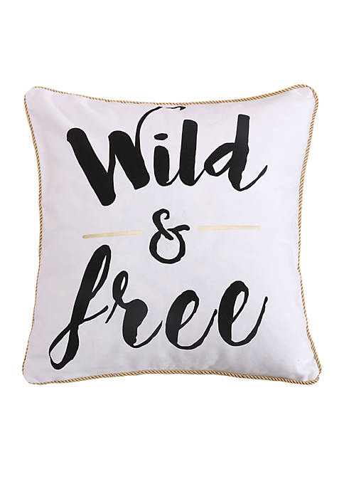 Levtex Carrie Wild and Free Pillow