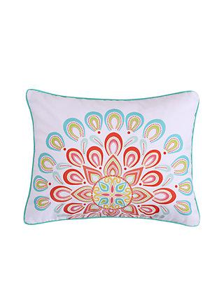 Levtex Lilian Coral Mandala Pillow Belk