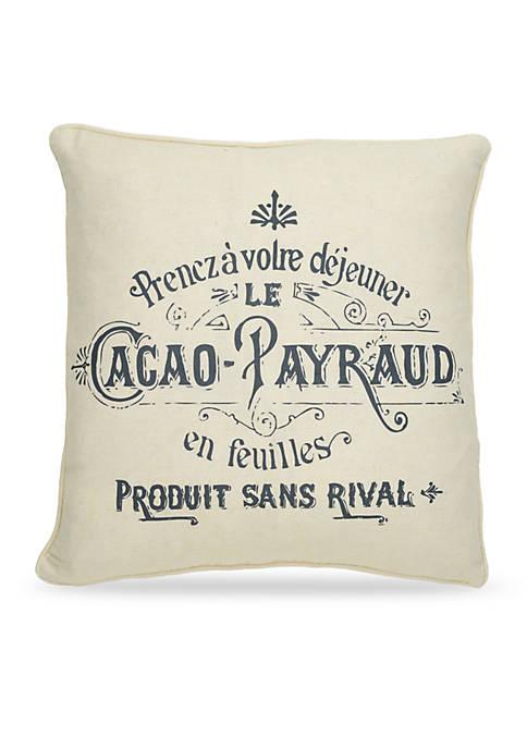 Levtex Jaylene Cacao Pillow