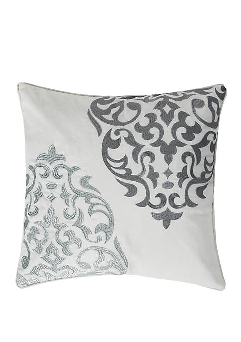 Levtex Home Delhi Gray Medallion Pillow