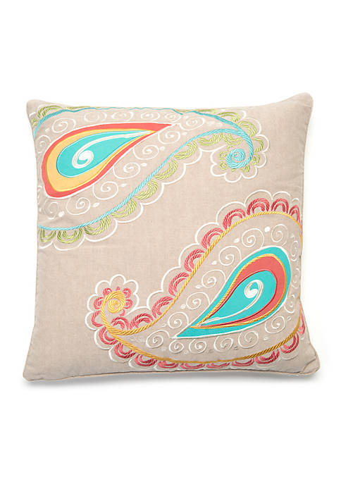 Levtex Taner Spring Paisley Pillow