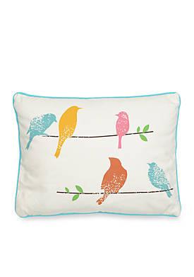 Taner Spring Birds Pillow