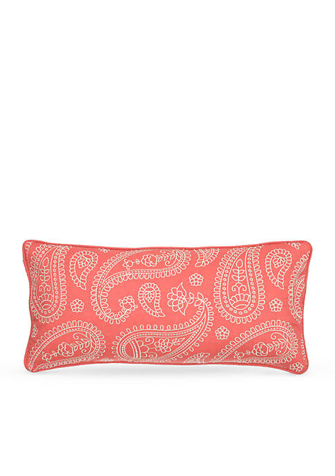 Levtex Taner Spring Coral Pillow