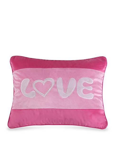 Levtex Hazael Love Pillow