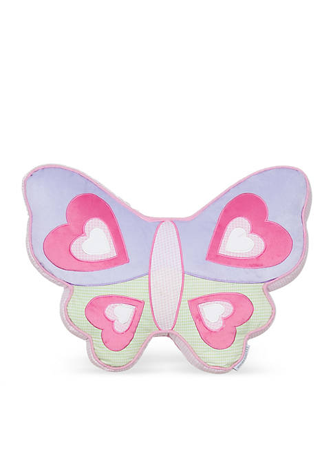 Levtex Sabel Butterfly Pillow