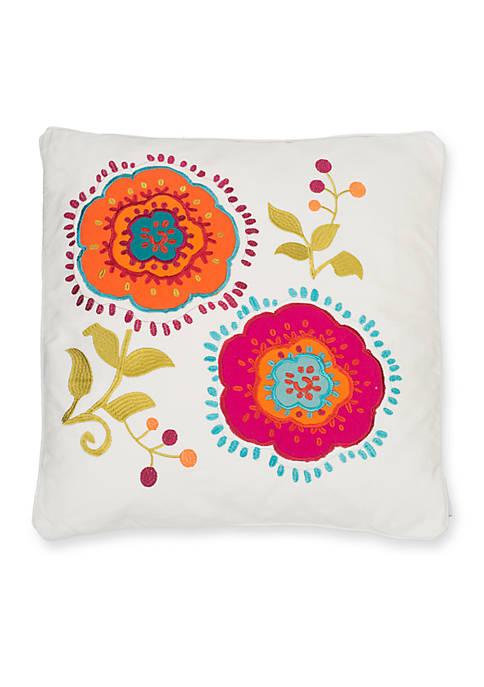 Levtex Krishna Flower Pillow