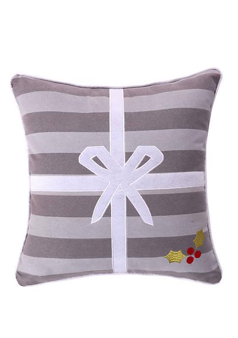 Levtex Silent Night Present Pillow