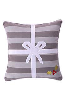 Silent Night Present Pillow