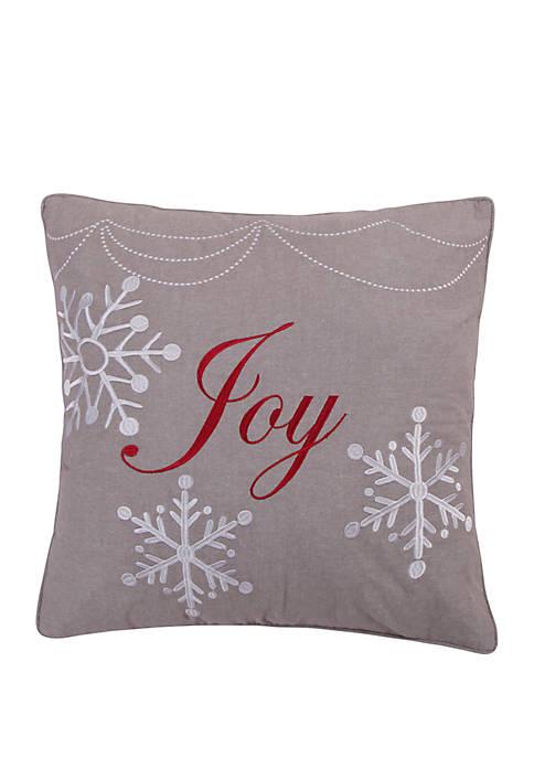 Levtex Silent Night Joy Pillow