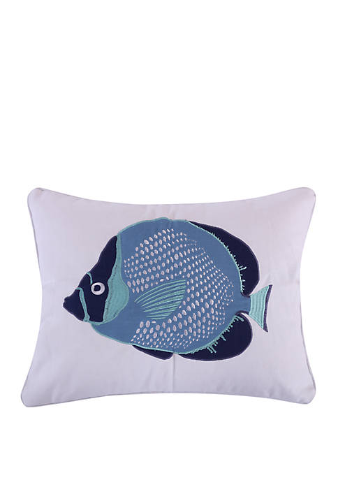 Levtex Home Camps Bay Fish Pillow