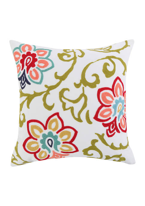 Levtex Clementine Floral Pillow