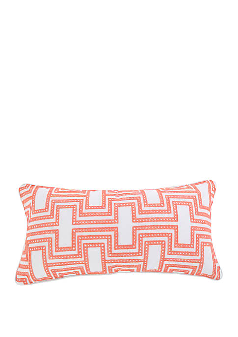 Levtex Home Clementine Spring Embroidered Pillow