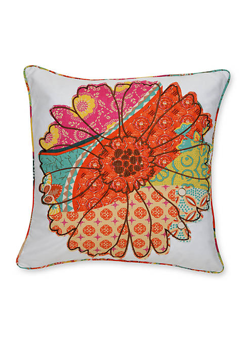 Levtex Nanuk Flower Pillow