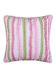 Pippa Velour Ruched Pillow