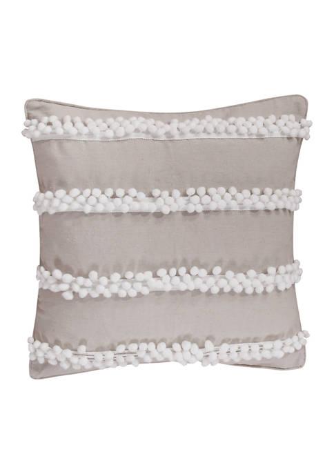 Pom Poms Pillow