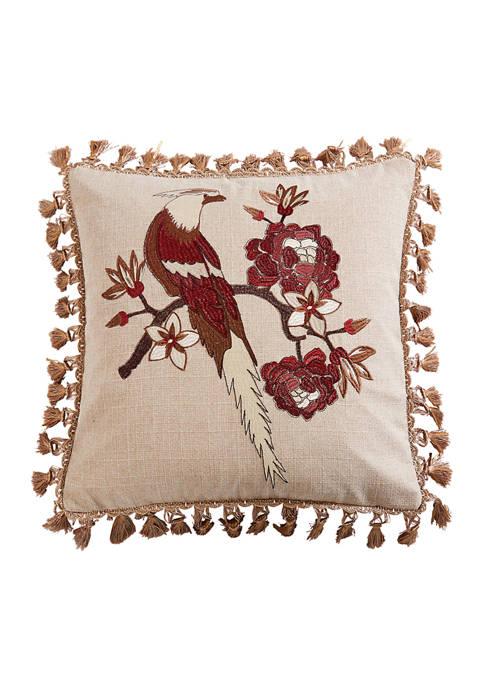 Levtex Astrid Bird Tassel Pillow