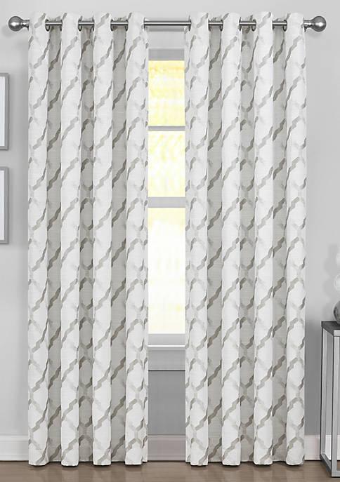 J Queen New York Novara Silver Window Panel