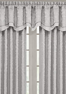 Spring Lake 2-Layer Scallop Valance
