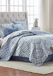 6-Piece Sweet Water Quilt Bed-In-A-Bag Set