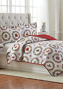 Whimsy Wreath Pinsonic Quilt Set