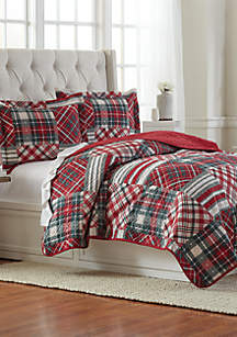Holiday Patch Pinsonic Quilt Set