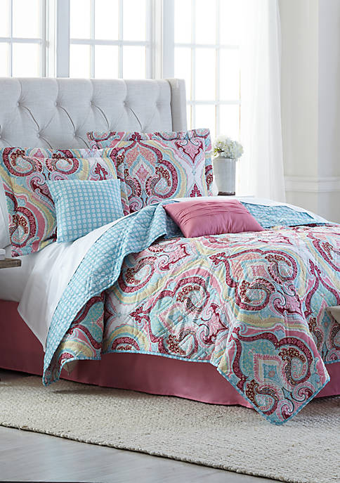 Gayle 6 Piece Quilt Bed in a Bag