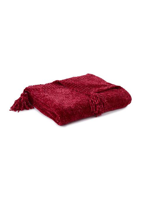 Chenille Throw Blanket