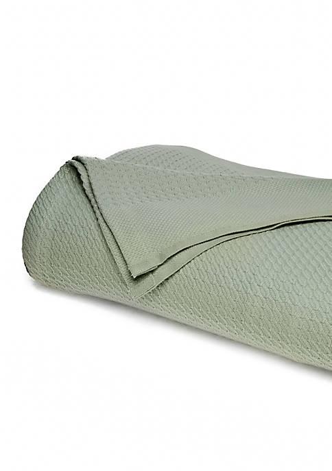 Modern. Southern. Home.™ Soft Cotton Herringbone Blanket