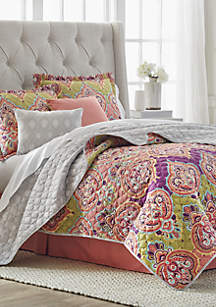 Lucienne 6-Piece Quilt Bed-In-A-Bag