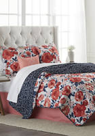 6-Piece Peggy Quilt Bed-In-A-Bag Set