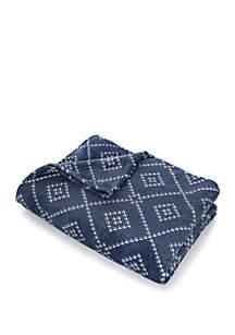 Argyle Plush Blanket