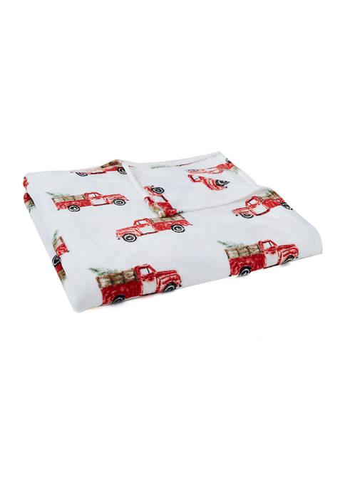 Plush Truck Blanket