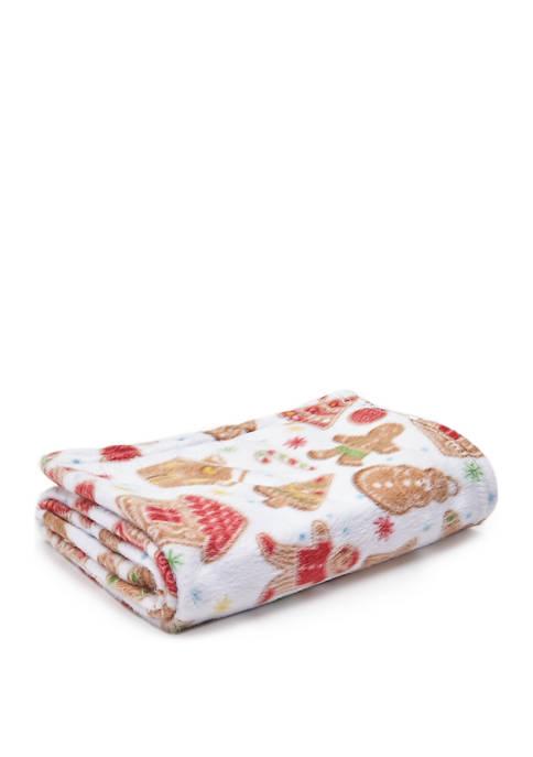 Modern. Southern. Home.™ Ginger Bread Fleece Throw Blanket